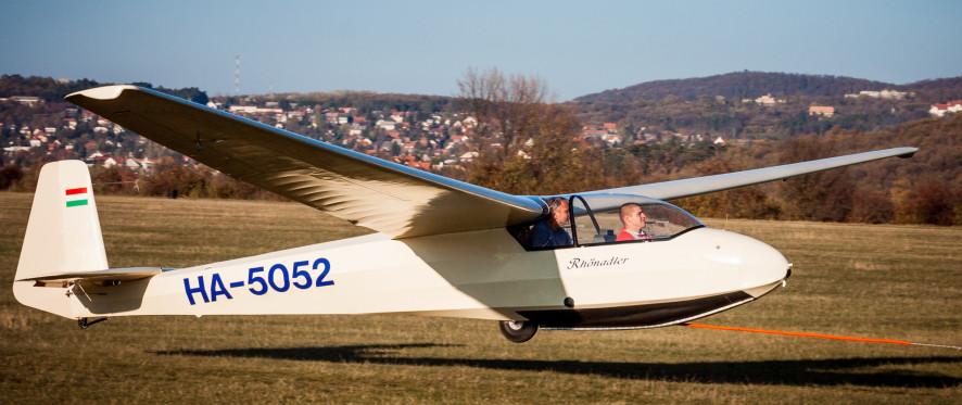 Ka7 Rhönadler felszállás közben