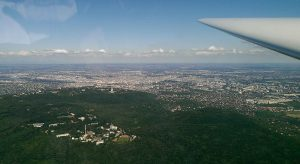Budapest a levegőből