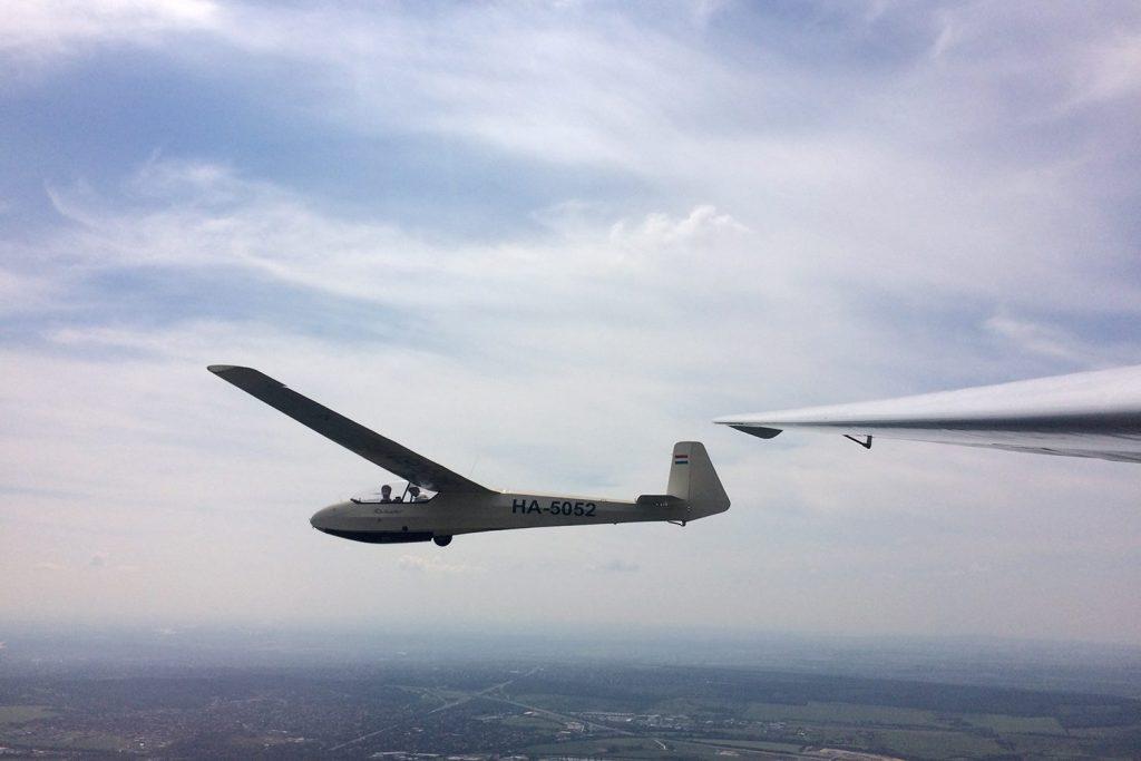 Ka-7 Rhönadler a levegőben